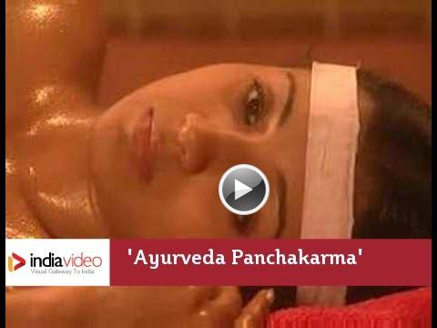 Video, Snehadhara, Ayurveda, Kerala, India