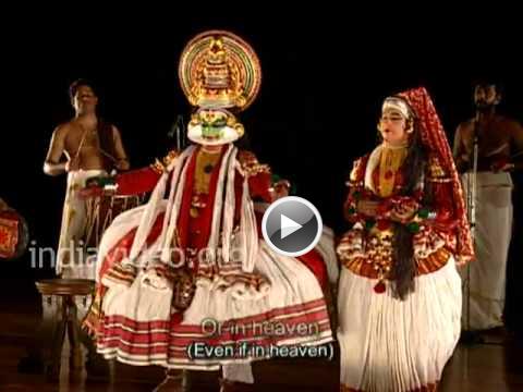 Kalyanasougandhikam in Kathakali Part 3, Invis Multimedia