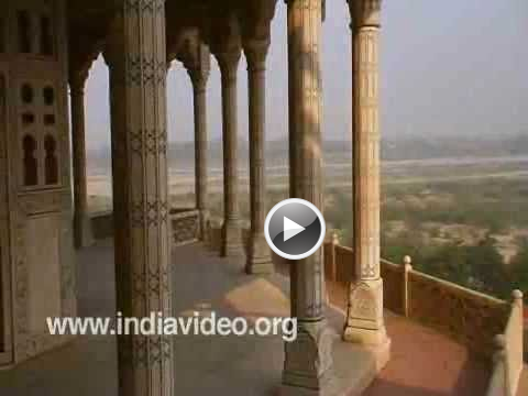 Jehangir Chain Of Justice Video Agra Fort Agra Uttar